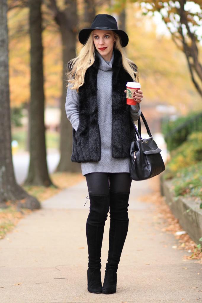 Fur-Vest2 8 Main Winter & Fall Jackets & Coats Trends in 2018