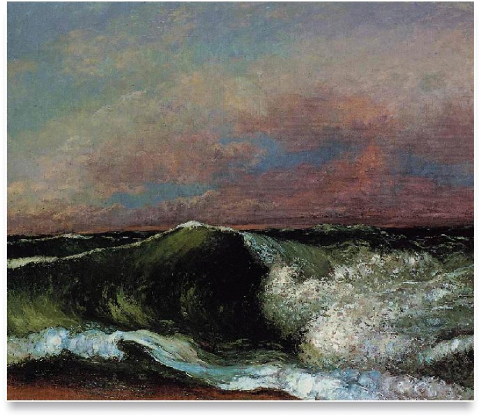 Gustave-Courbet-masterpiece-The-Wave How to Easily & Quickly Turn a Photo into a Painting