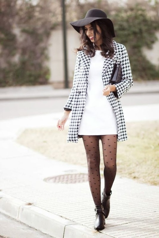 Houndstooth-Patterns-4 14 Latest Print Trends for Women in 2017