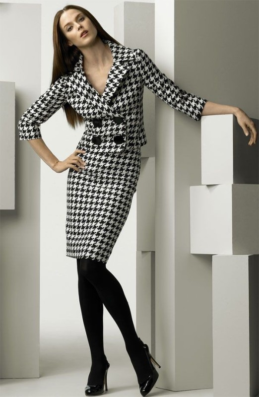 Houndstooth-Patterns-6 14+ Latest Print Trends for Women in 2020