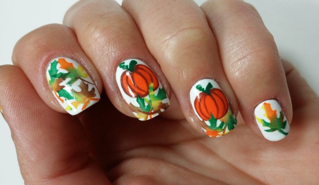 Jumble-Different-Designs3 10 Thanksgiving Nail Art Design To Try
