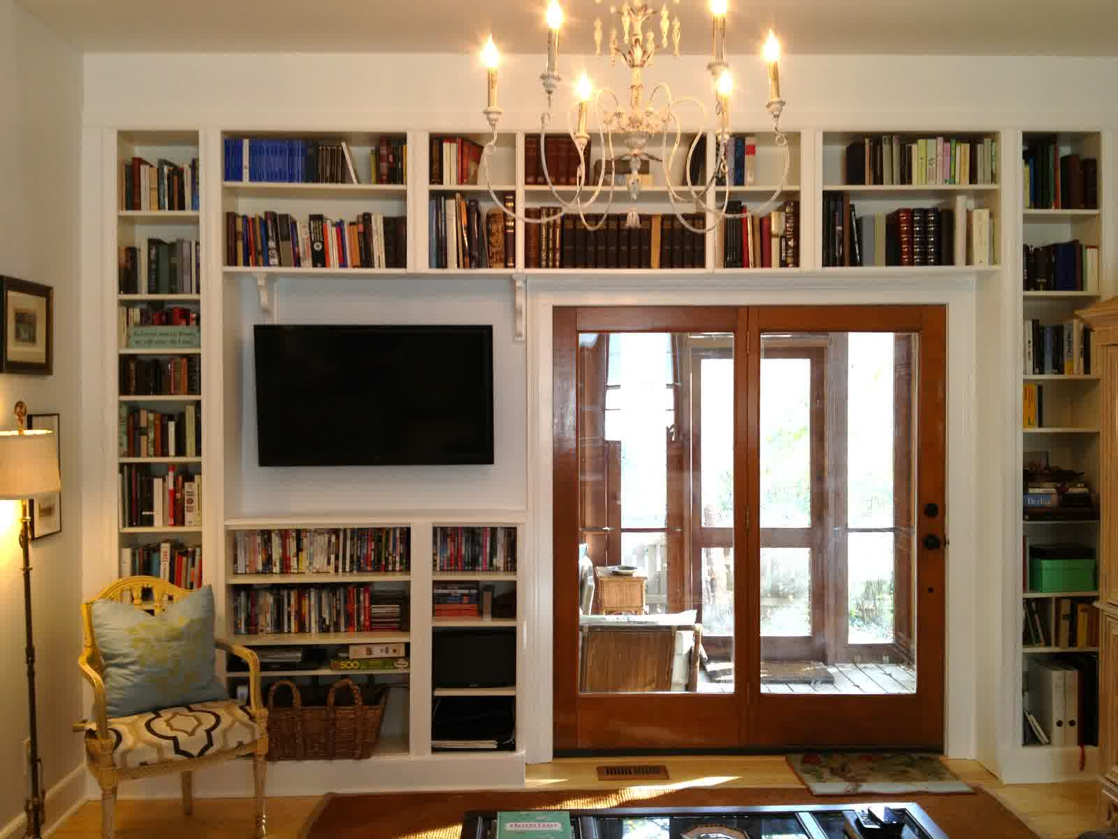 Library-Dominated-Room2-1 20+ Best Living Room Design Ideas in 2018