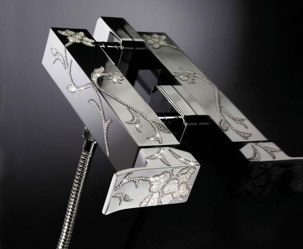 Maier_Luxury_Chrome_Bath 55 Most Famous Diamond faucets