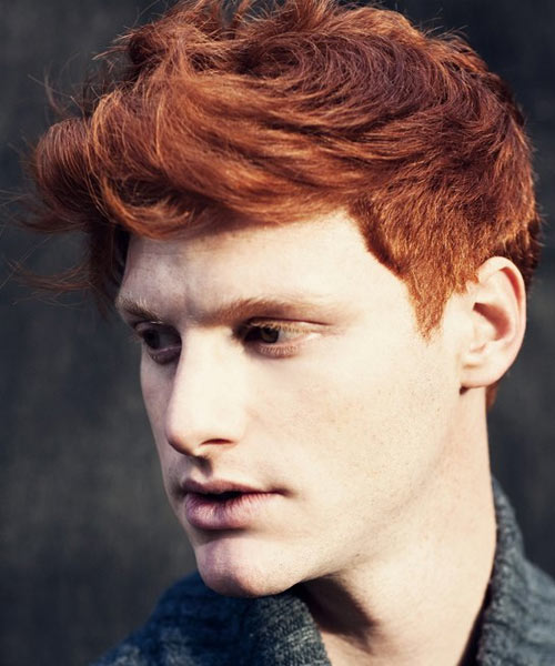 Marc-Goldfinger-Red-Head-Male-Model Best 20+ Hair Colors for Men in 2020