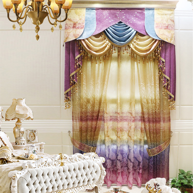 New-Arrival-Colorful-Cartoon-font-b-Rainbow-b-font-Blackout-font-b-Curtains-b-font-for 5 Main Bedroom Design Trends For 2018