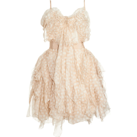 Nina-Ricci-Ruffled-cocktail-dress-475x475 Stop Here ! Know How To Select The Best Golden And Silver Jewelry For Different Occasions ?