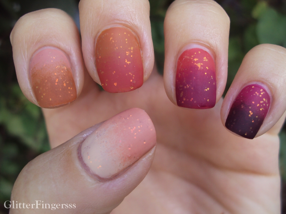 Ombre-Nails-Art1 10 Thanksgiving Nail Art Design To Try