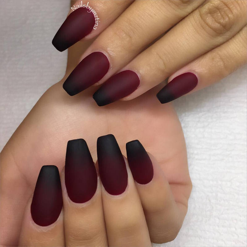 Ombre-Nails-Art3 10 Thanksgiving Nail Art Design To Try