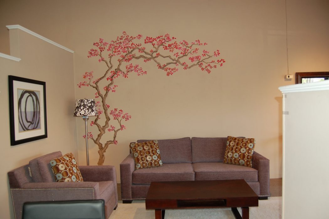 Painted-Walls2 +20 Most Creative Designs For Living Rooms