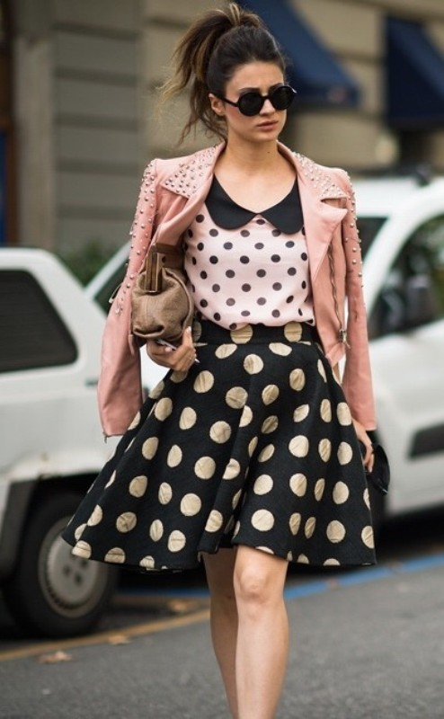 Polka-dots 14+ Latest Print Trends for Women in 2020