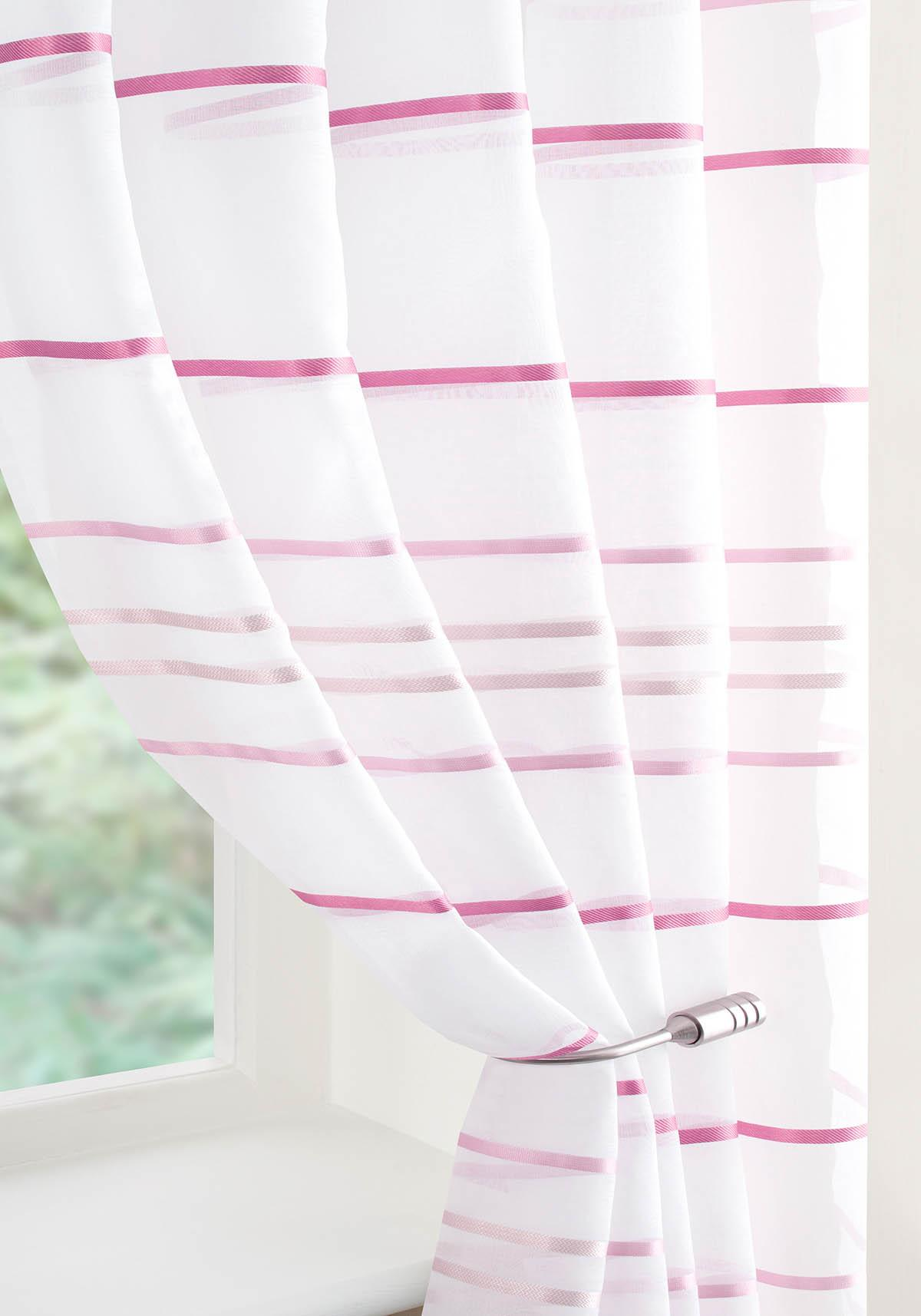 Ribbon-Glued-Curtain6 37+ Creative Curtains Design Ideas To DIY