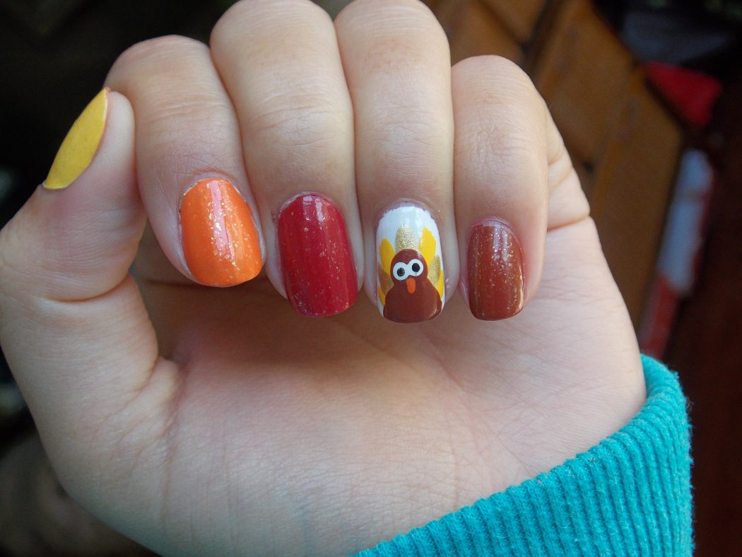Roasted-Turkey1 10 Thanksgiving Nail Art Design To Try