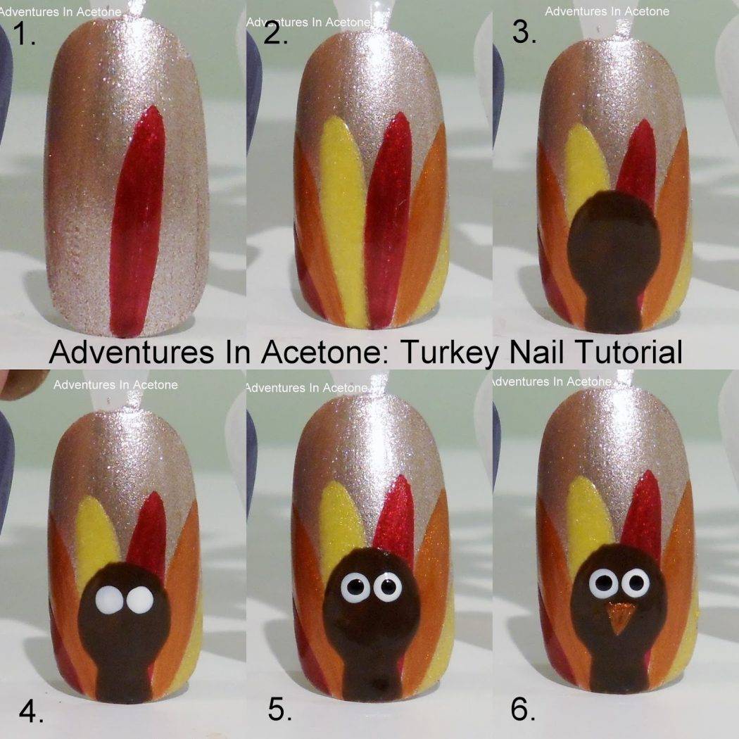 Roasted-Turkey2 10 Thanksgiving Nail Art Design To Try