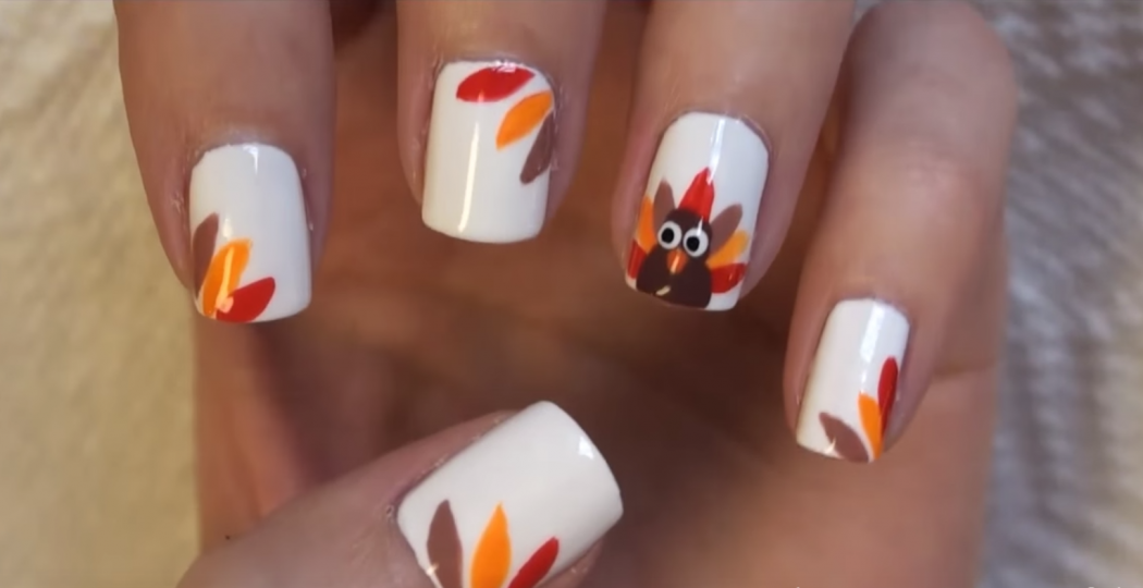 Roasted-Turkey3 10 Thanksgiving Nail Art Design To Try