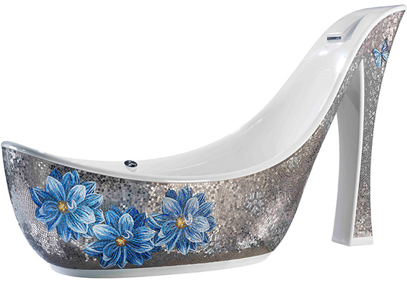 SICIS-Shoe-Bathtub-1 69 Most Expensive Gemstones Bathtubs