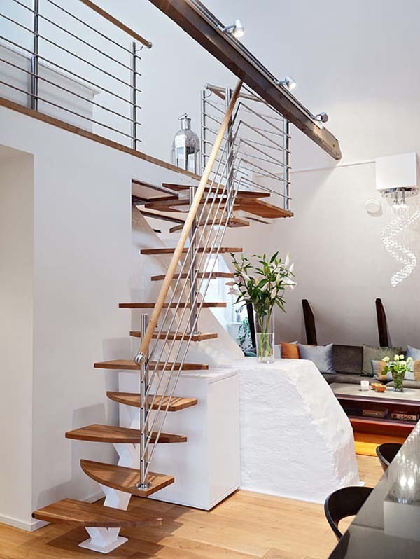 Staircase-Design-Ideas-20 61 Fabulous Staircase Design Ideas for a Catchier Home