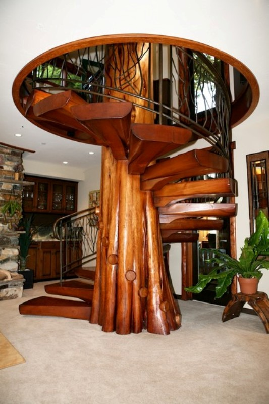 Staircase-Design-Ideas-28 61 Fabulous Staircase Design Ideas for a Catchier Home