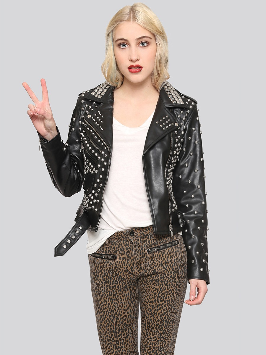 Studded-Moto-Jacket1 8 Main Winter & Fall Jackets & Coats Trends in 2020