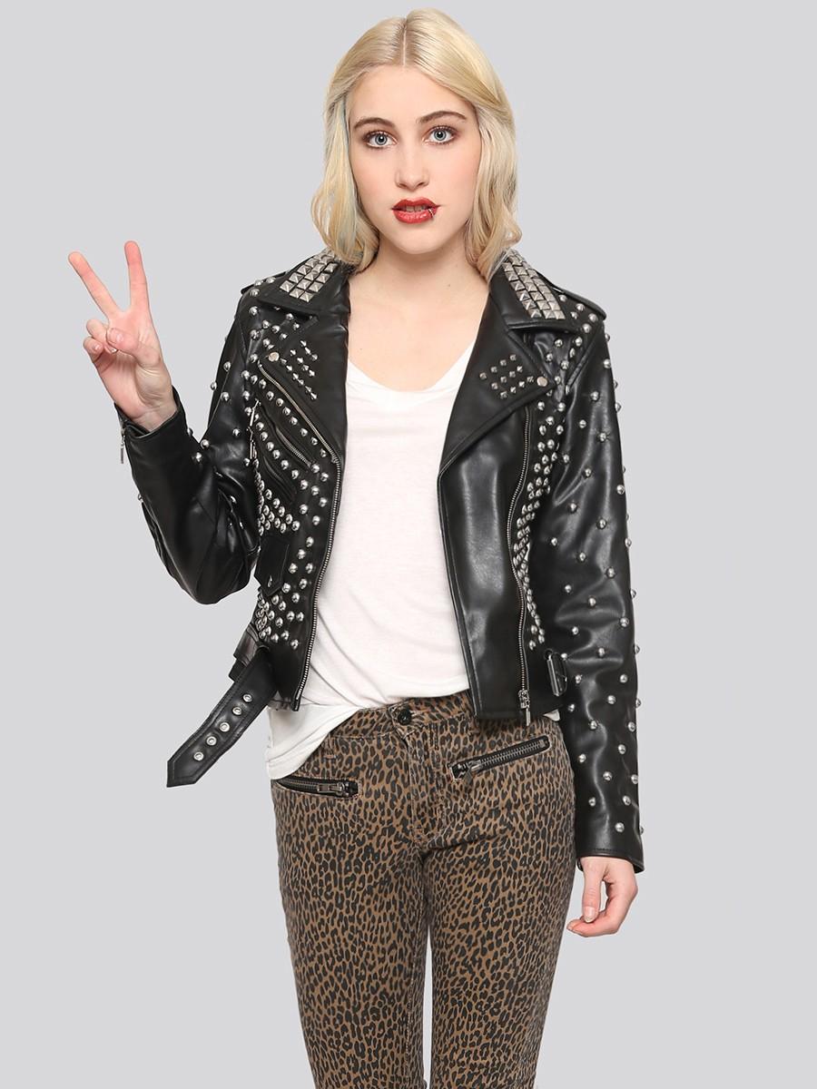 Studded-Moto-Jacket1 8 Main Winter & Fall Jackets & Coats Trends in 2018