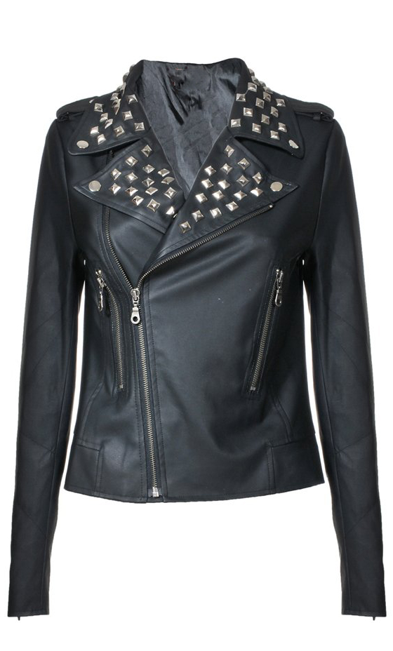 Studded-Moto-Jacket3 8 Main Winter & Fall Jackets & Coats Trends in 2020