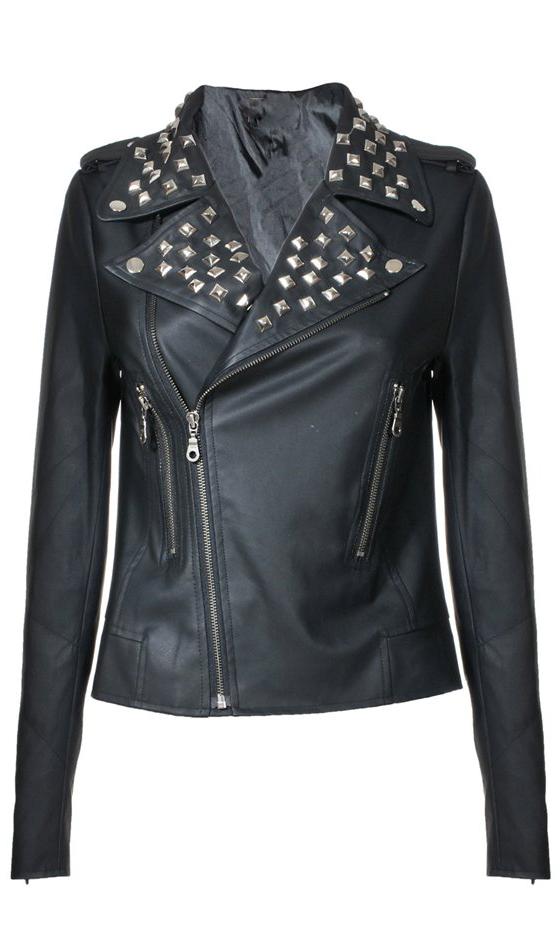 Studded-Moto-Jacket3 8 Main Winter & Fall Jackets & Coats Trends in 2018