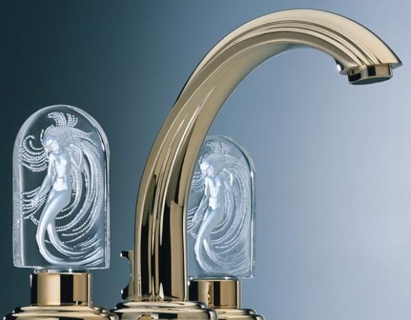 THG-Lalique-crystal-faucets-1 55 Most Famous Diamond faucets