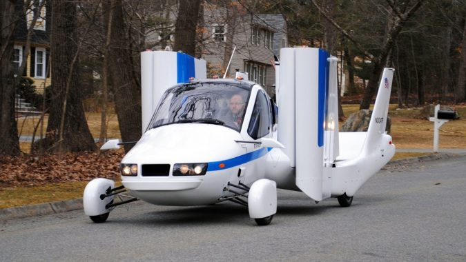Terrafugia-flying-car-675x380 Future Car Designs That Will Blow Your Mind