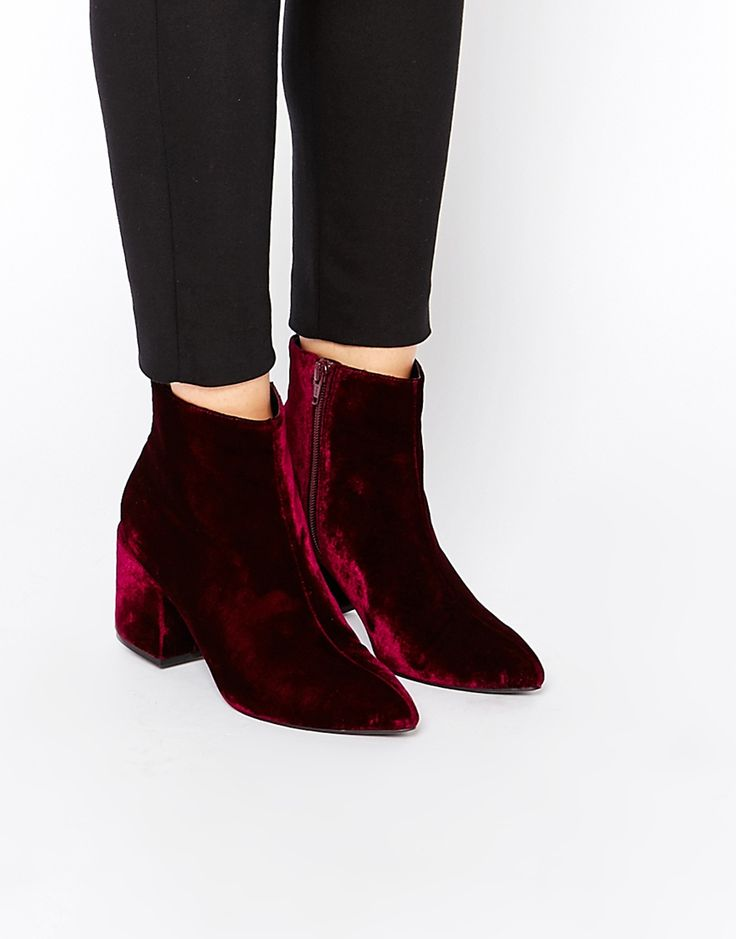 Velvet-Boots4 Top 10 Stylish Boot Trends in 2017