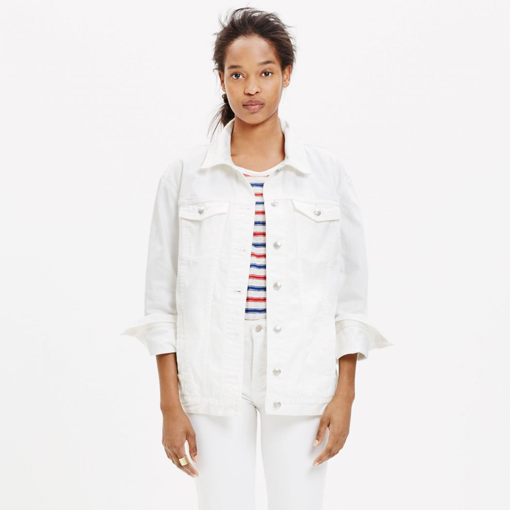 White-Jeans1 8 Main Winter & Fall Jackets & Coats Trends in 2018