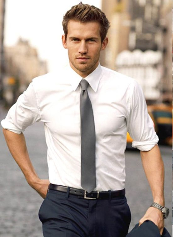 White-Plain-Shirt2 6 Hottest Weddings Outfit Ideas for Men in 2017