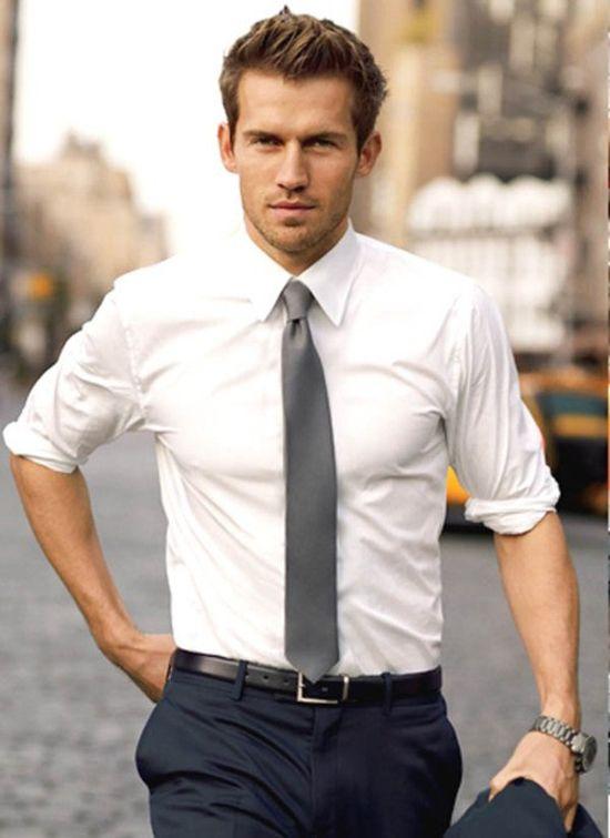 White-Plain-Shirt2 6 Elegant Weddings Outfit Ideas for Men in 2020