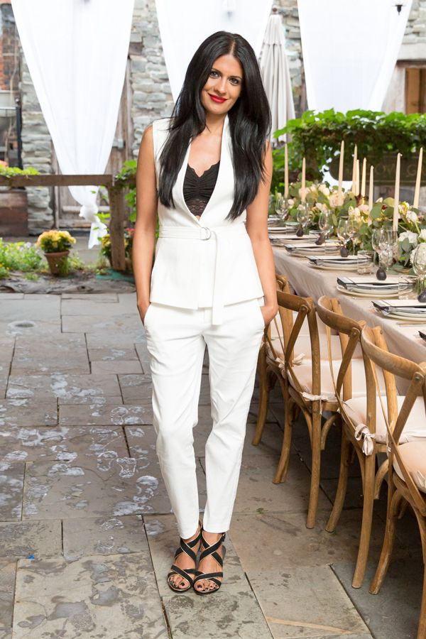 White-Trousers2 20+ Hottest White Party Outfits Ideas for Women in 2020