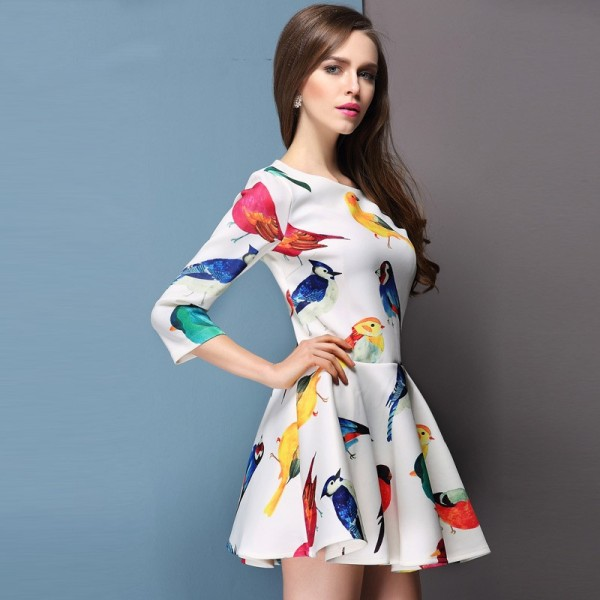 bird-prints-1 14+ Latest Print Trends for Women in 2020