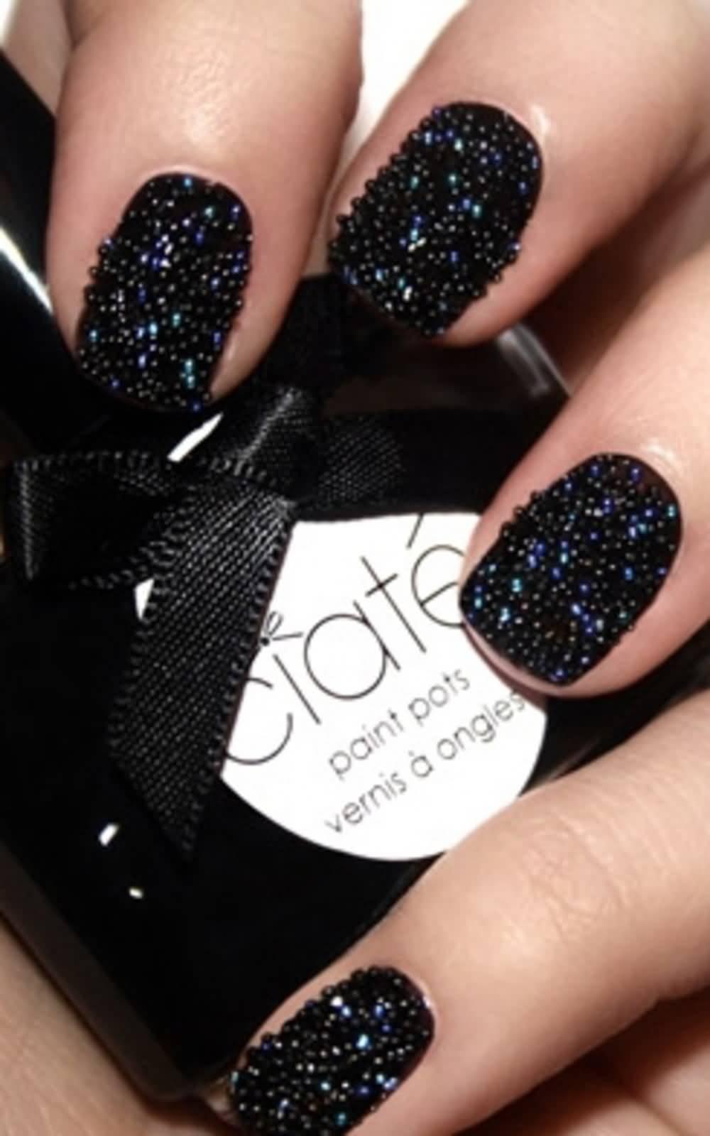 caviar-nail-polish4 +15 Hottest Caviar Manicure Creative Ideas to Apply in 2020