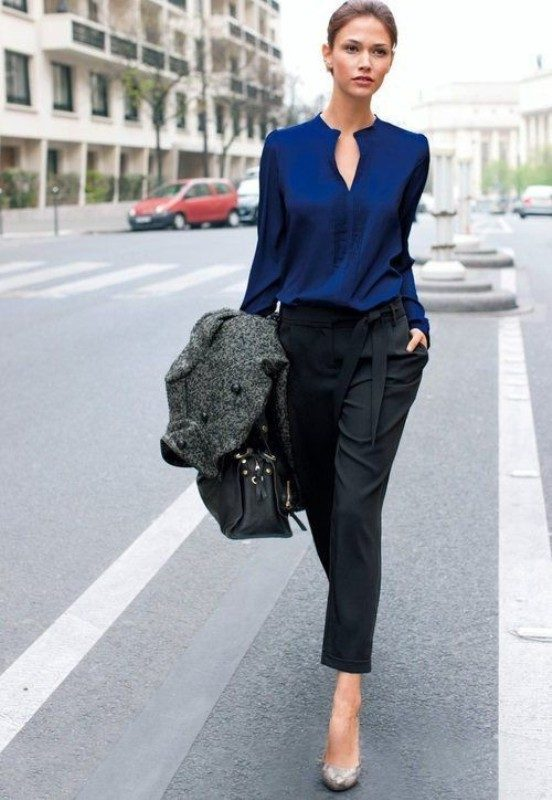 cobalt-and-navy-blue-12 15 Hottest Fashion Color Trends You'll Love in 2020