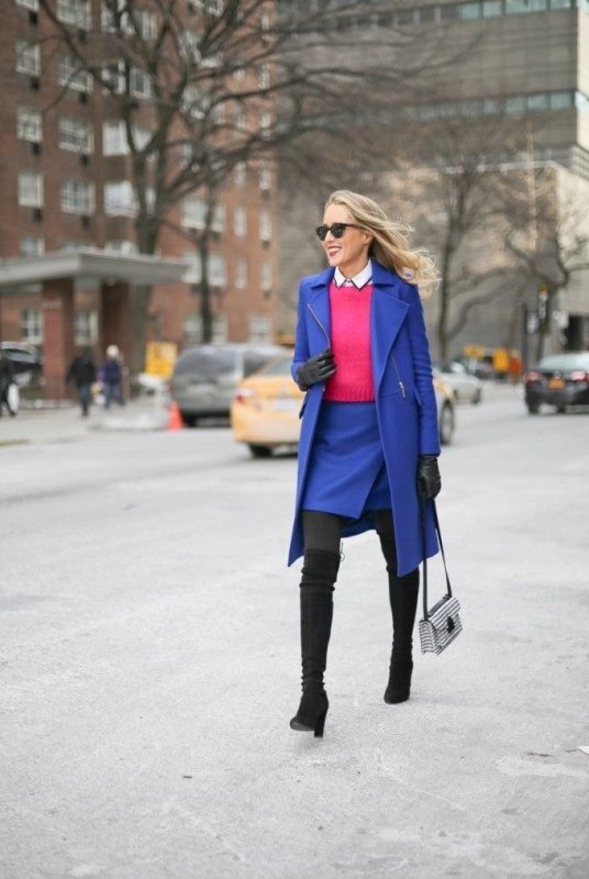 cobalt-and-navy-blue-3 15 Hottest Fashion Color Trends You'll Love in 2019