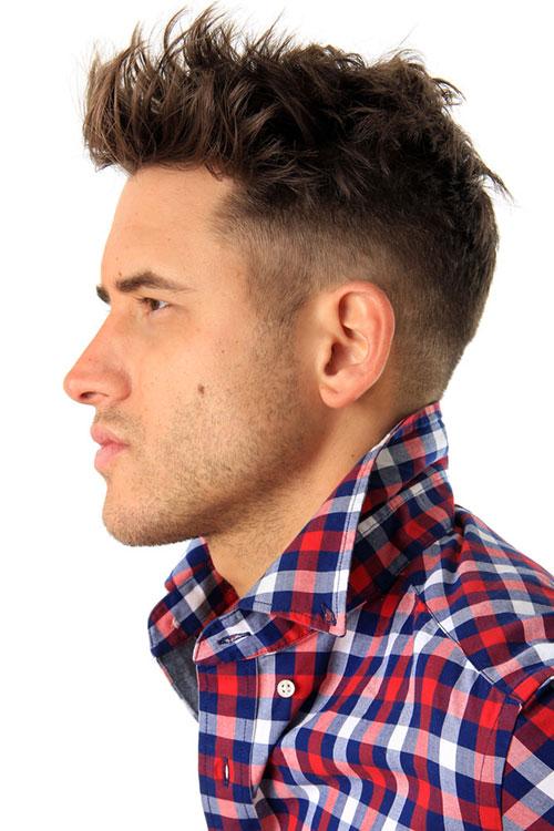 dark-warm-brown-hair-color-for-men Best 20+ Hair Colors for Men in 2018