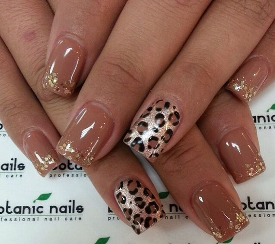 df98661bcdf3de296d1382e19ec53906 6 Most Stylish Leopard and Cheetah Nail Designs