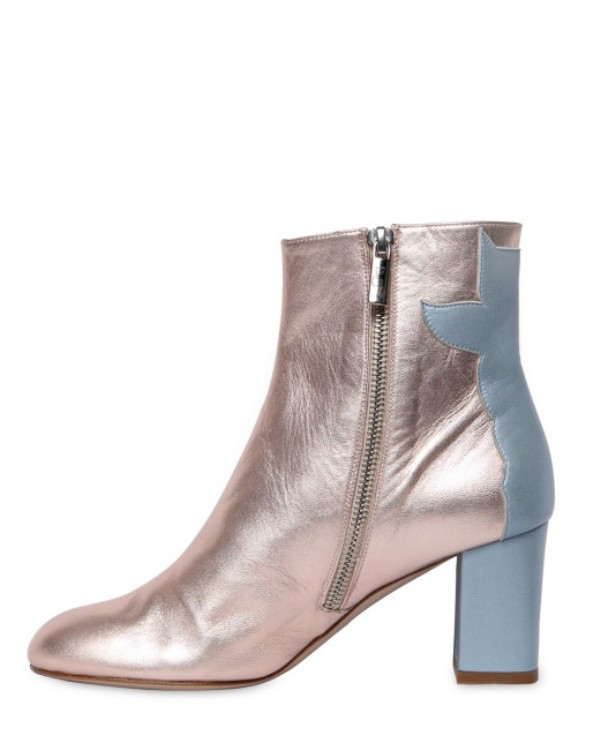 dual-tone-boot-1 24+ Most Stylish Boot Trends for Women in 2020