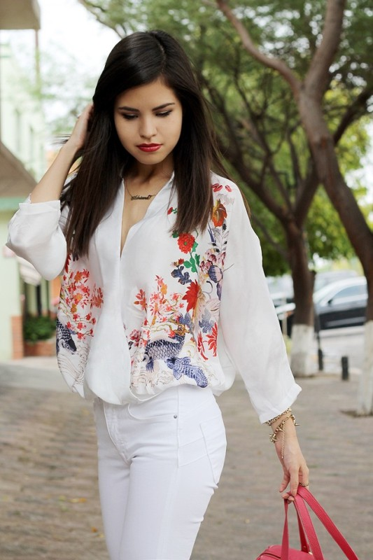 floral-prints-4 14 Latest Print Trends for Women in 2017