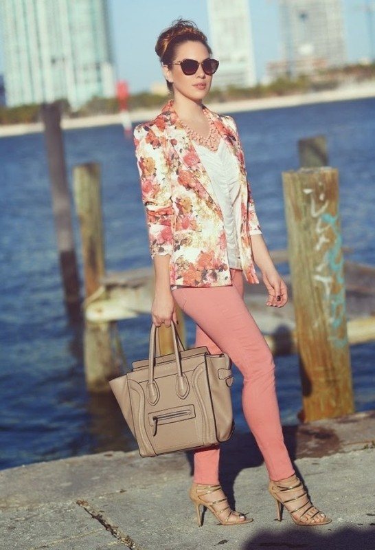 floral-prints-5 14 Latest Print Trends for Women in 2017