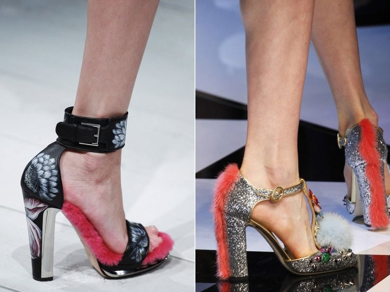 fur-shoes-2 28 Catchiest Women's Shoe Trends to Expect in 2017