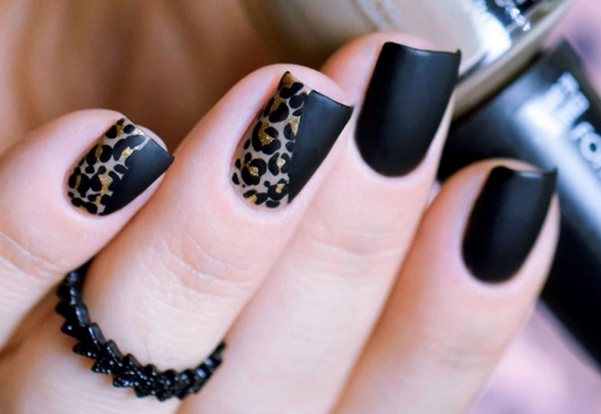 gggggggggggggggggg-675x465 6 Most Stylish Leopard and Cheetah Nail Designs