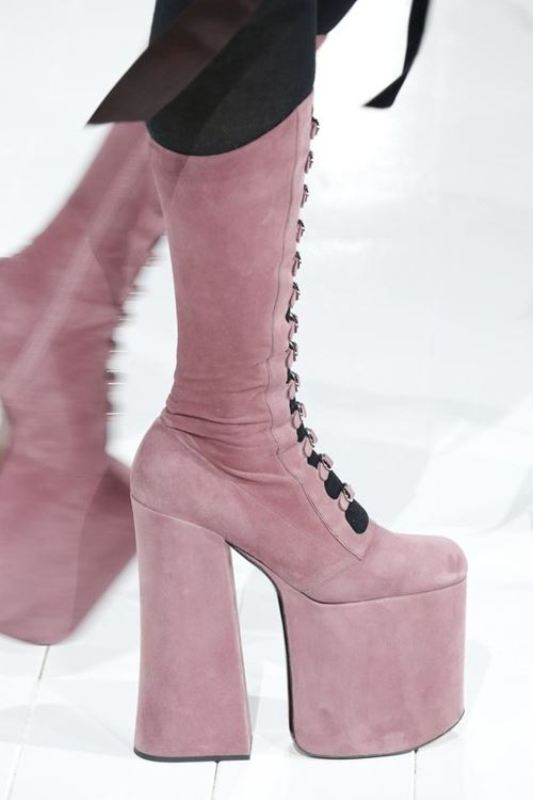 high-platforms-1 24+ Most Stylish Boot Trends for Women in 2020