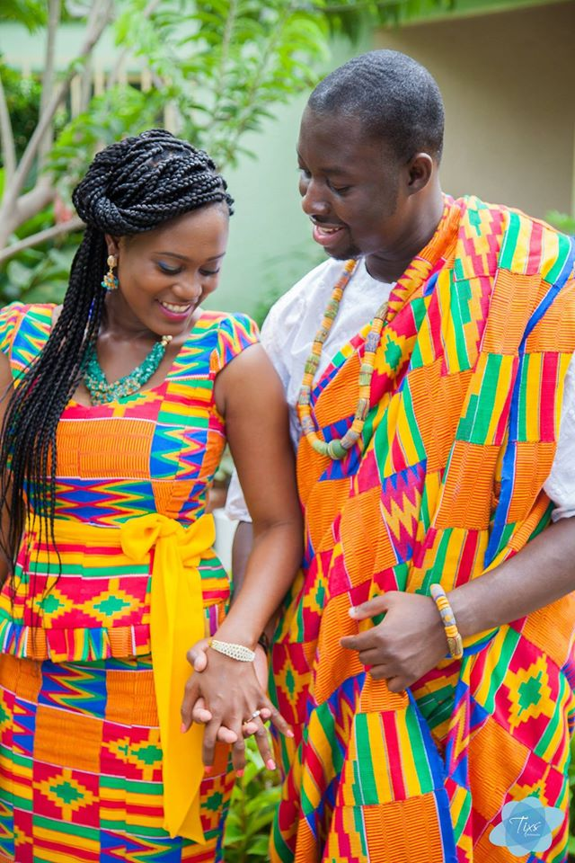 kente-3 25+ Women Engagement Outfit Ideas Coming in 2018