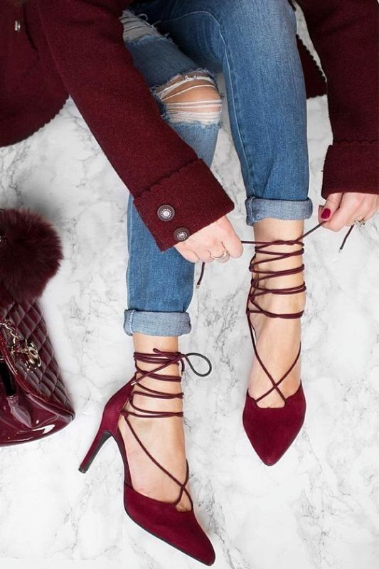lace-up-shoes-3 28+ Catchiest Women's Shoe Trends to Expect in 2021
