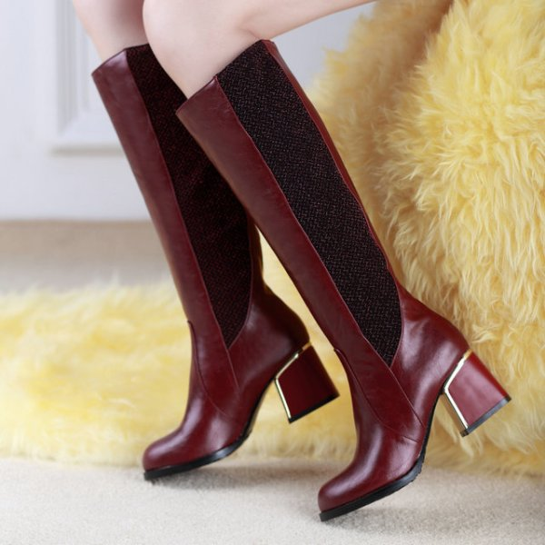 leather-2 24+ Most Stylish Boot Trends for Women in 2018