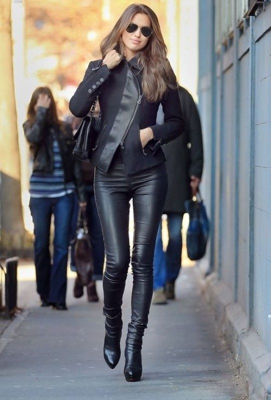 leather-outfits-2017-1 36+ Hottest Fashion Trends You Need to Know for 2020