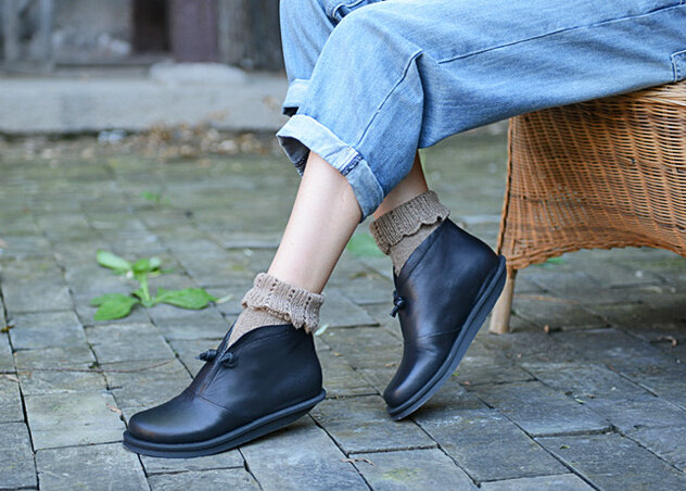 leather-shoes 5 Upcoming Shoes Trends for Women in 2018