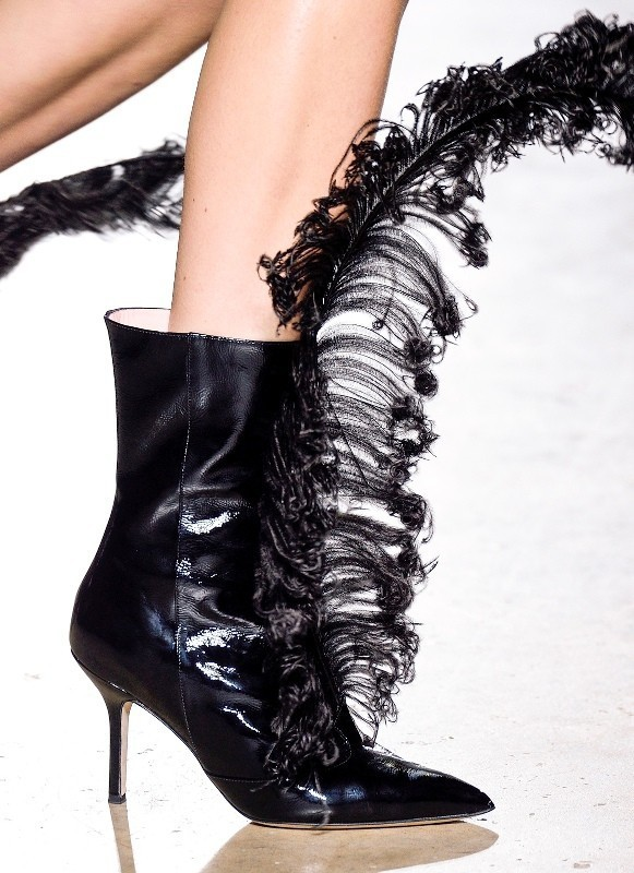 marabou-feather-shoes 28+ Catchiest Women's Shoe Trends to Expect in 2018
